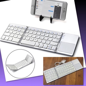 Used PORTABLE FOLDING WIRELESS KEYBOARD in Dubai, UAE