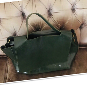 Used Dark Green Med size Handbag ♥️ in Dubai, UAE