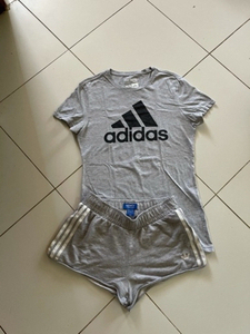 Used Adidas T shirt and shorts in Dubai, UAE