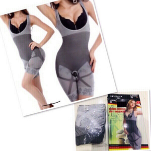 Used Charcoal Body Slimmer size S/M ♥️  in Dubai, UAE