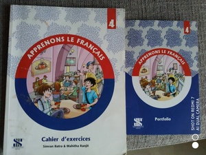 Used French workbook Apprenons 4 in Dubai, UAE