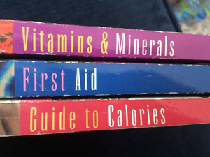 Used mini health books (3) in Dubai, UAE