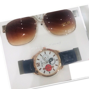 Used Set For Him watch / Sunglasses 🕶 ♥️ in Dubai, UAE