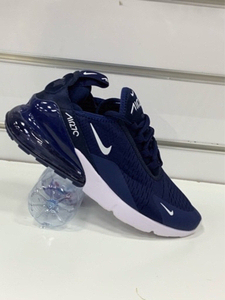 Used Nike Airmax 270 navy blue 43 in Dubai, UAE