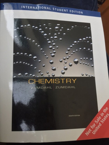 Used chemistry, zumdhal (8th edition) in Dubai, UAE