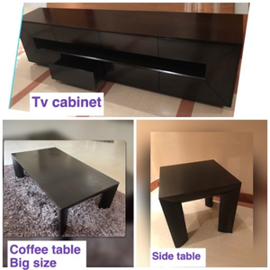 Used 3 items coffee  Side  tv unit from 2xl   in Dubai, UAE