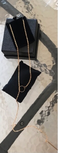 Used Long chain plated gold brand new in Dubai, UAE