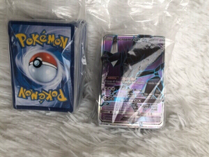Used Pocket Monster cards 2 packs Pokemon  in Dubai, UAE