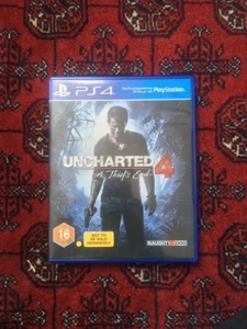 Used UNCHARTED 4 FOR PS4  in Dubai, UAE