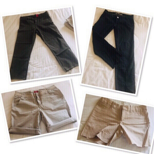 Used 2 Short + 2 FREE pants size: Small ♥️ in Dubai, UAE