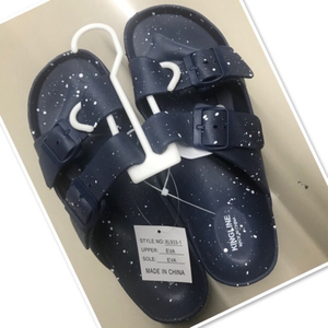 Used Men Rubber blue  sandals size 43 ♥️ in Dubai, UAE