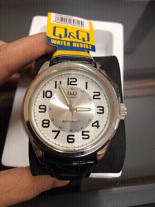 Used Q&Q Japanese brand men business watch . in Dubai, UAE