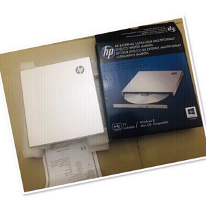 Used HP External DVD/CD writer ULTRA slim ♥️ in Dubai, UAE
