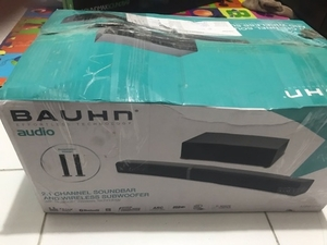 Used Bahnh 2.1 Channel Sound bar wireless  in Dubai, UAE
