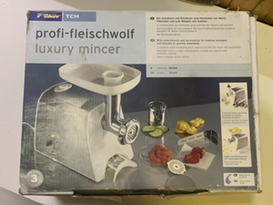 Used Tchibo Mincer , Germany made, new in Dubai, UAE