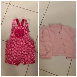 Used Girls cardigan and romper 18 m in Dubai, UAE