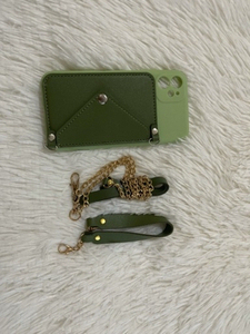 Used iPhone 11 case with card pocket in Dubai, UAE