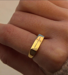Used Silver ring gold plated in Dubai, UAE