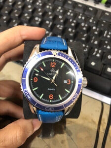 Used orkina blue watch in Dubai, UAE