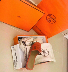 Used Authentic Hermès Omaha Sandals/size35 ❤️ in Dubai, UAE
