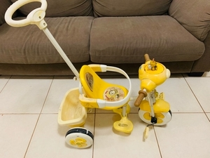 Used PUSH TRICYCLE with foot rest  in Dubai, UAE