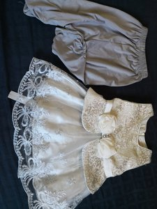 Used Baby frock with pant in Dubai, UAE