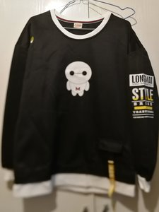 Used Brand new black big monstor pullover L in Dubai, UAE