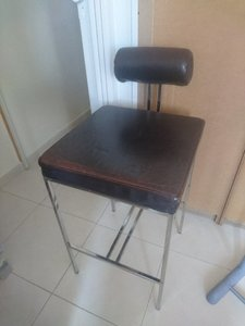 Used Genuine Leather Bar Chair in Dubai, UAE