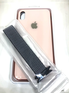 Used Cover iPhone Pink XS.   in Dubai, UAE