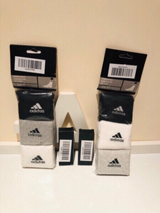 Used 6 adidas socks & 2 refillable spray b in Dubai, UAE