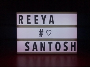Used DIY letter light box  in Dubai, UAE