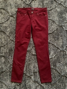 Used Express Red Jeans  in Dubai, UAE