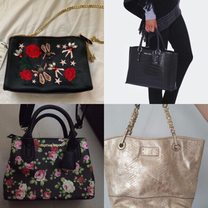 Used authentic bags bundle, (3 new, 1 used) in Dubai, UAE