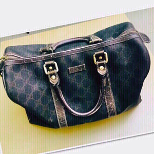 Used Gucci Boston Bag Authentic 💙 in Dubai, UAE