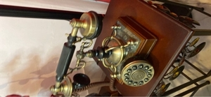 Used Antique phone with push button dial   in Dubai, UAE