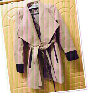 Used Stradivarius Coat size Small ♥️ in Dubai, UAE