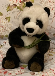 Used Fluffy panda toy  in Dubai, UAE