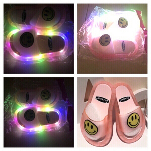 Used Smiley slippers pink size 24/25 😃 in Dubai, UAE