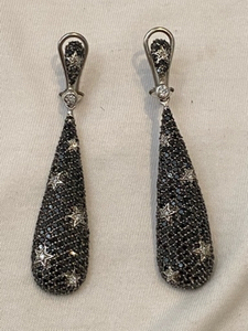 Used Bundle sale 3 silver earrings and glasse in Dubai, UAE