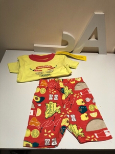 Used Baby gymmies sleepwear 2pcs size 12-18 M in Dubai, UAE