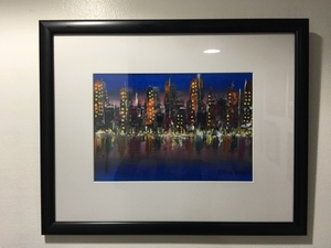 Used Elegant Abstract Cityscape in Dubai, UAE