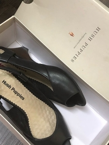 Used Hush puppies worn once shoes in Dubai, UAE