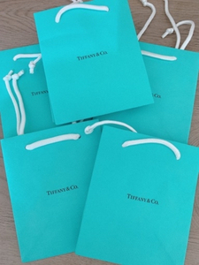Used Tiffany &Co original paper bag  in Dubai, UAE