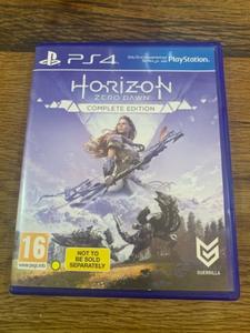 Used PS4 game Horizon (complete edition)  in Dubai, UAE