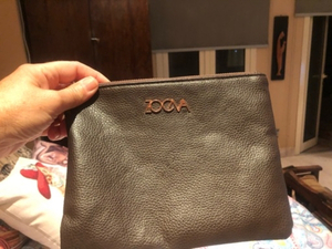 Used Leather small clutch  in Dubai, UAE
