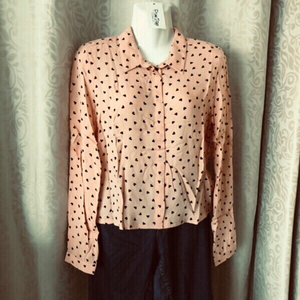 Used Cute 🖤 Blouse size EU 38 / UK 10 in Dubai, UAE