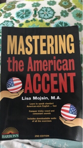 Used Mastering the American Accent book in Dubai, UAE