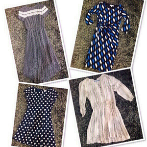 Used 4 Branded Dress size: Small 💙 in Dubai, UAE