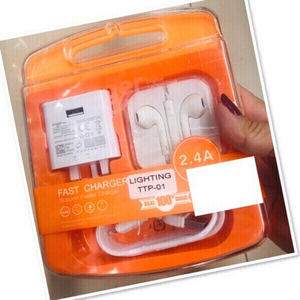 Used Headset & Charger for iPhone/ android ♥️ in Dubai, UAE