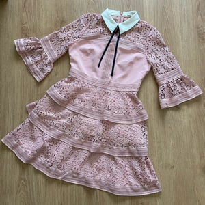 Used Ted Baker Star Lace Ruffle Dress in Dubai, UAE